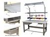 1,000 LB. CAPACITY ROOSEVELT SERIES WORKBENCHES - WITH STAINLESS STEEL TOP