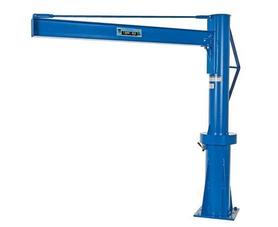 MULTI-STATION TRANSPORTABLE JIB CRANE